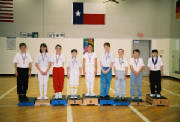 Fall 2003 Youth Class Medal Winners