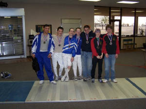 Junior Mixed Foil Medal Winners