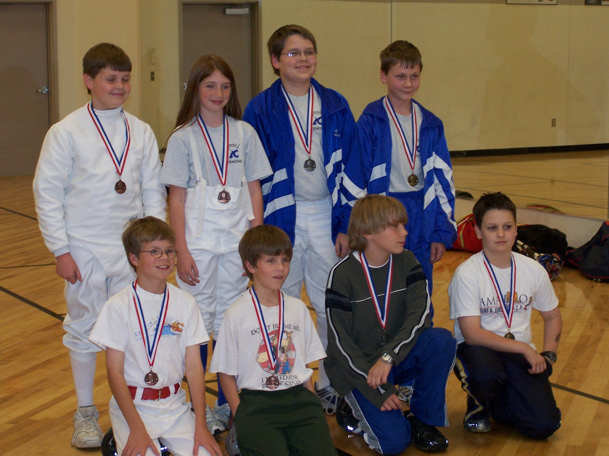 Spring 2006 Semester Youth Class Medal Winners